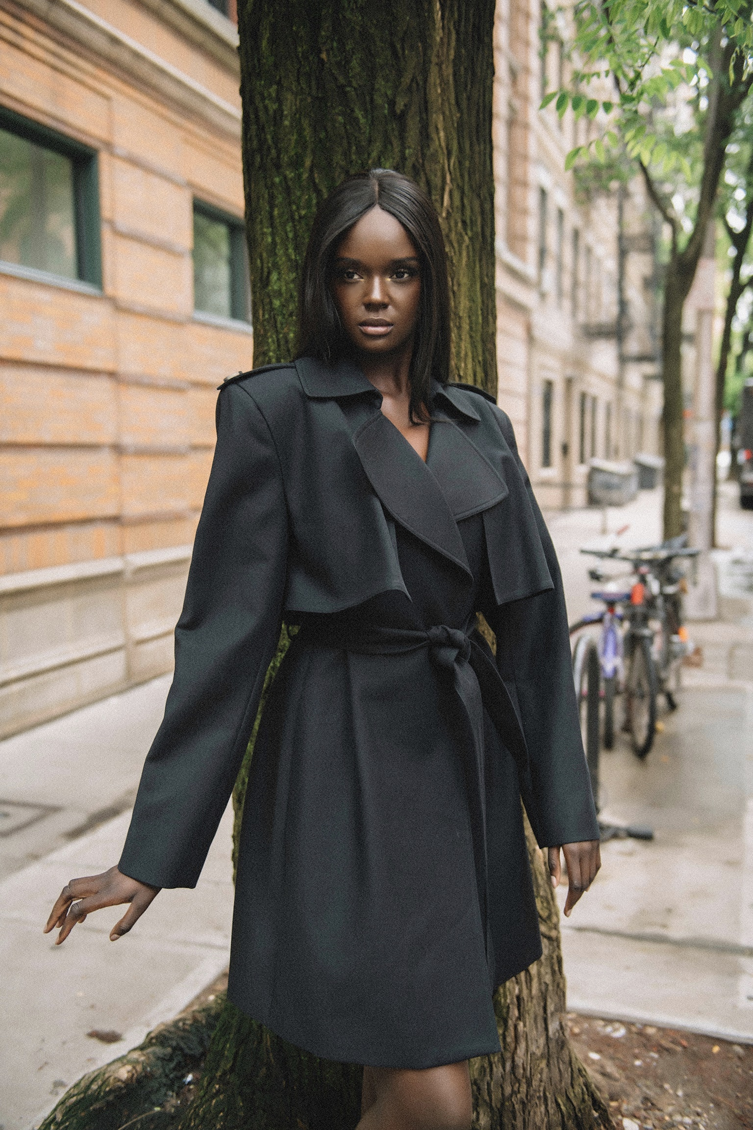 Model:  @duckieofficial   Photographer:  @griff  Fashion Editor:  @nickycbell  Makeup:  @makeupbyslater  Hair:  @ivainsane   Published:  https://cfda.com/news/words-with-fashion-friends-duckie-thot