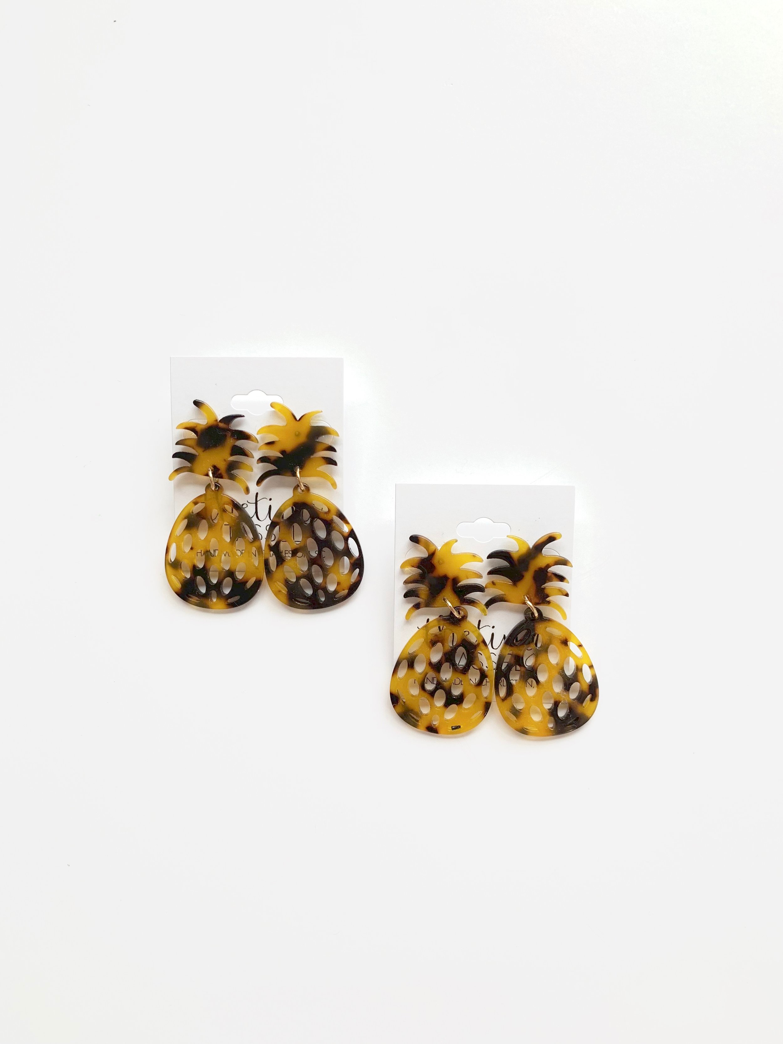 Shop our Shem Pineapple Earrings   here  !