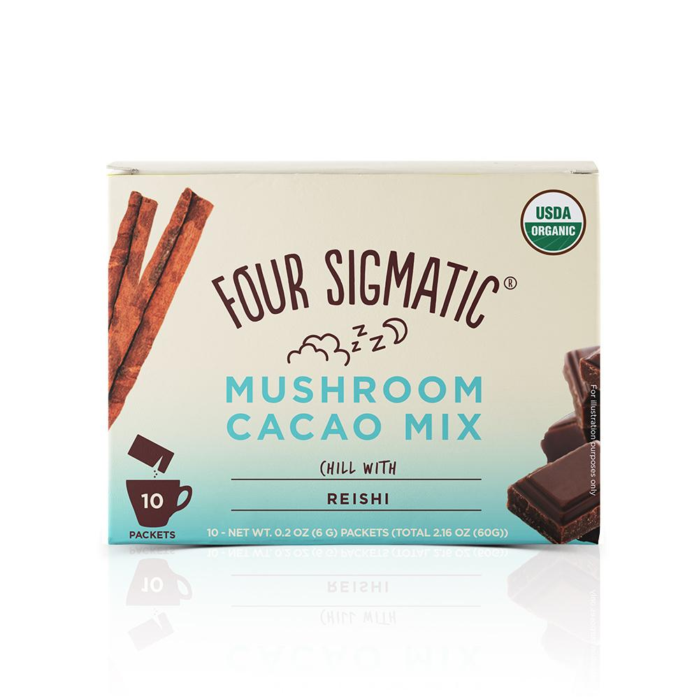 Need to relax? Try this delicious Reishi hot chocolate from Foursigmatic.com Simply use code: TINYFITDIVA for 10% off!