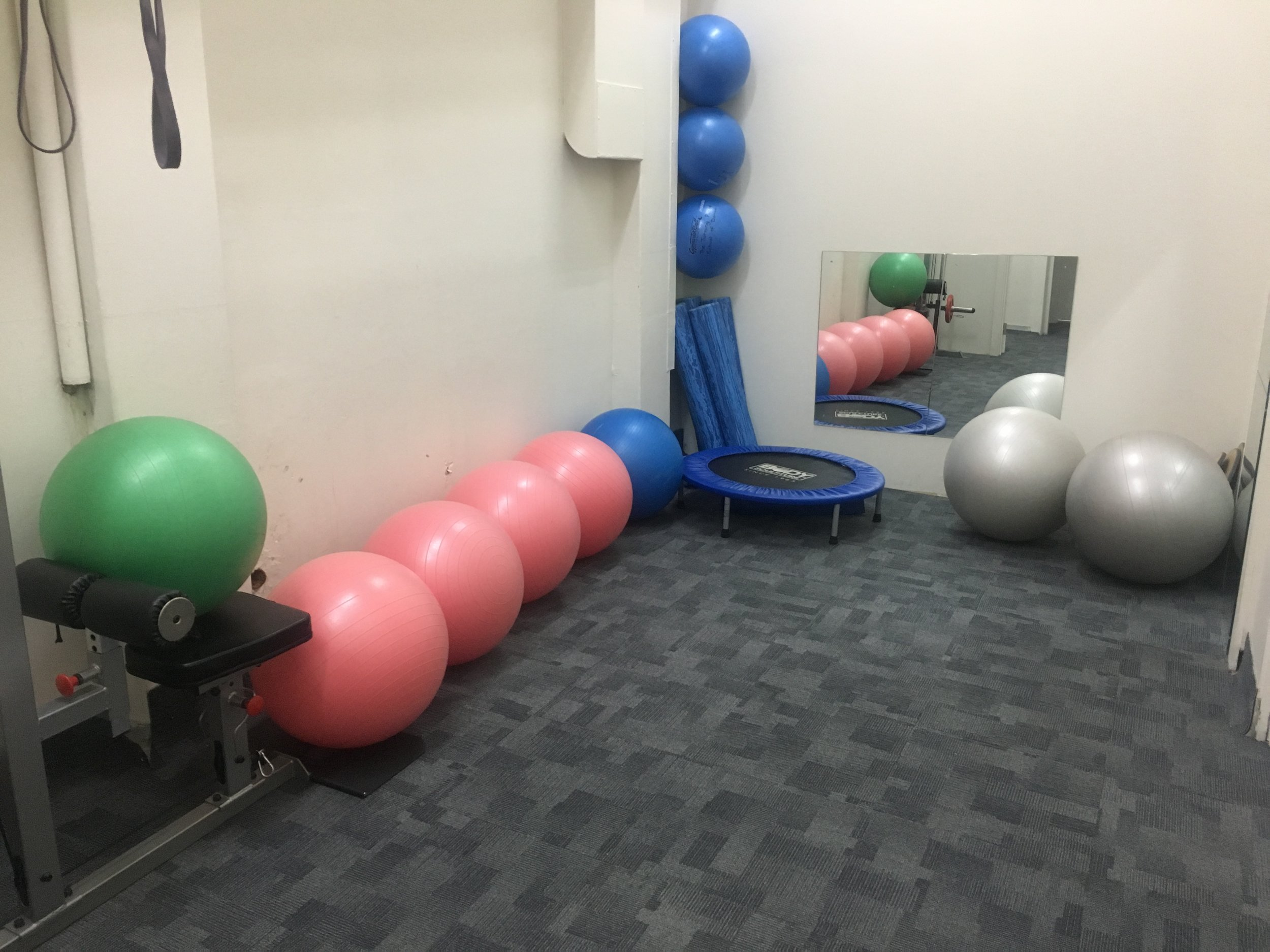 Pilates and Warm up space - 6m x 3m