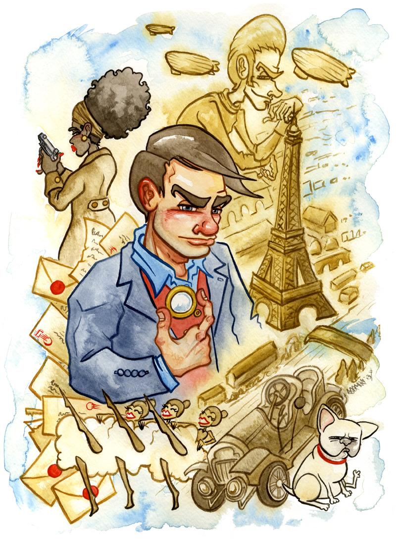 Promotional poster art by JoJo.