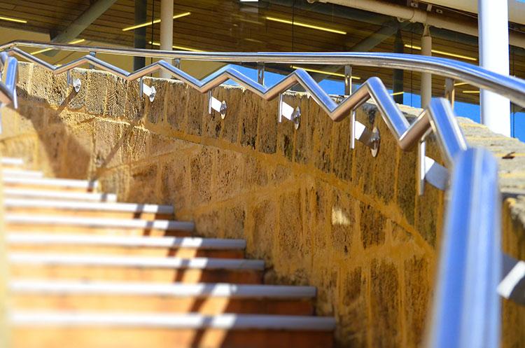 Mirrabooka-shopping-centre-stainless-steel-zig-zag-curved-handrail.jpg