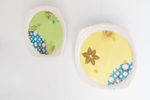 porcelain plates $250