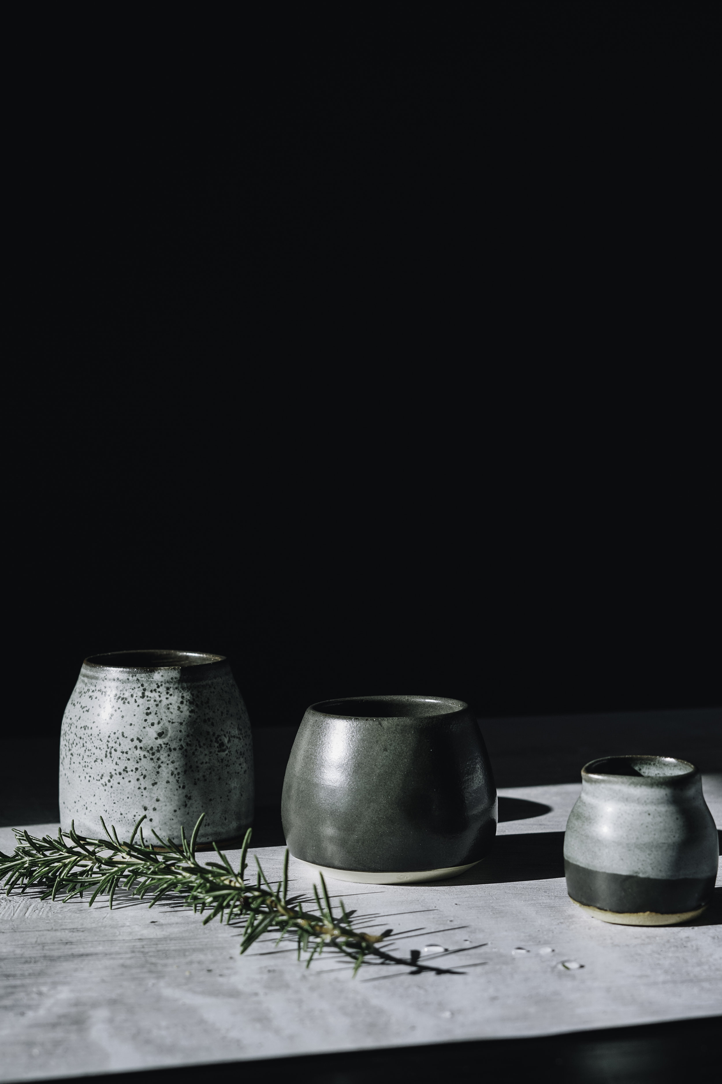 Fran Romano - A beautiful selection of handmade ceramic vessels which can be used as posy holders, for a morning coffee or bits and bobs. For the rustic decoratorFrom $30