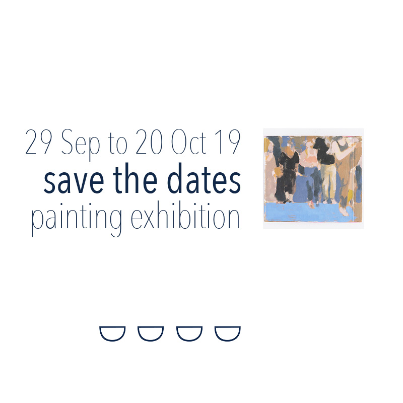 SAVE THE DATES! - We are excited to announce the 3rd annual group show at GOST features 25 painters who have responded to the theme, Looks like music, sounds like painting. More information will be released in the September GOST news as well as our website under Exhibitions. We hope you can make the exhibition as it will be open 7 days a week, 11am to 4pm.