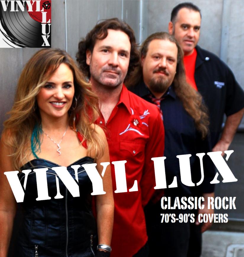 Vinyl Lux 70s-90s rock covers