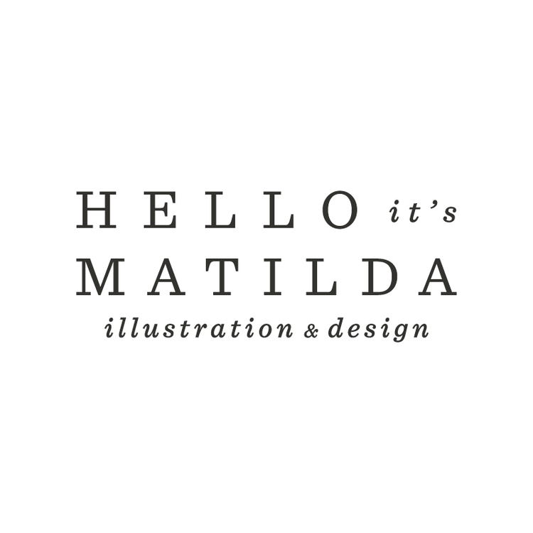 Matilda van der Walt (JHB)  Hello it's Matilda: Illustrator & Graphic Designer