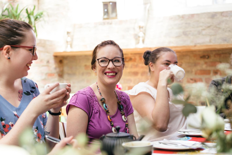 Members Liz, Liandri and Samantha at our October Joburg Meet-up. Photo Credit: Carey Slade