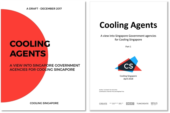 Fig 4. Cooling Agents: A view into Singapore government agencies for Cooling Singapore
