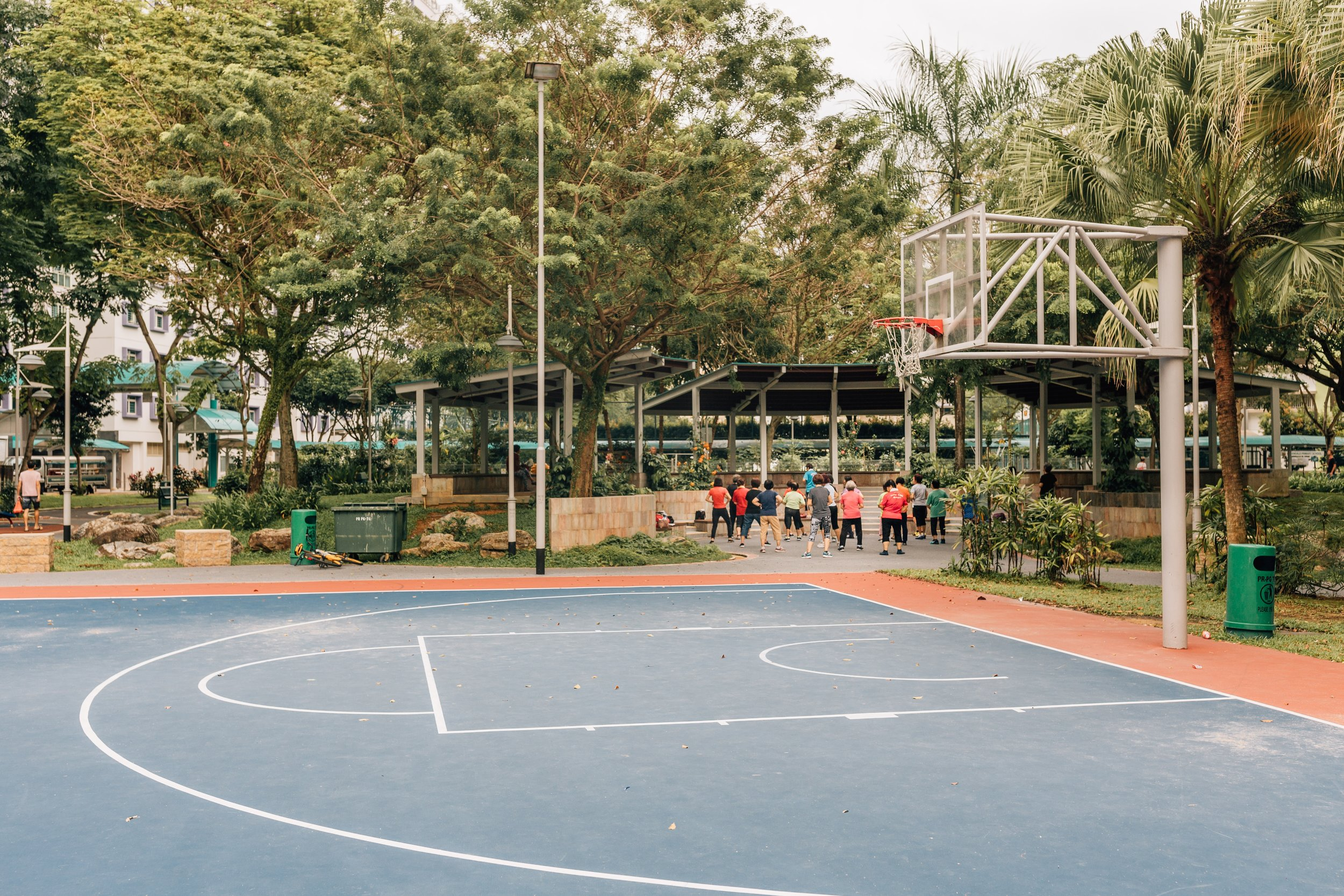 Fig 1. Outdoor Thermal Comfort related campaign in Singapore / Source: Lina Meisen Photography