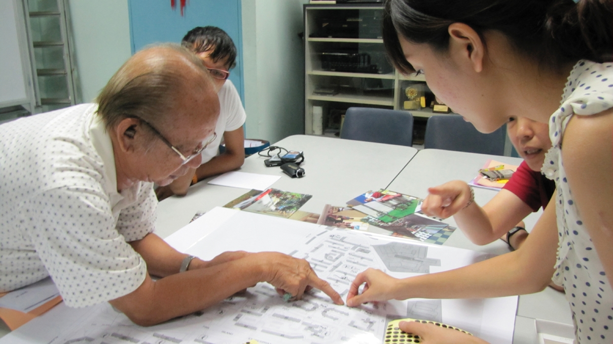 Fig 2. People engagement campaign in cooperation with the Singaporean NGO 'Participate in Design' Source: Participate in Design