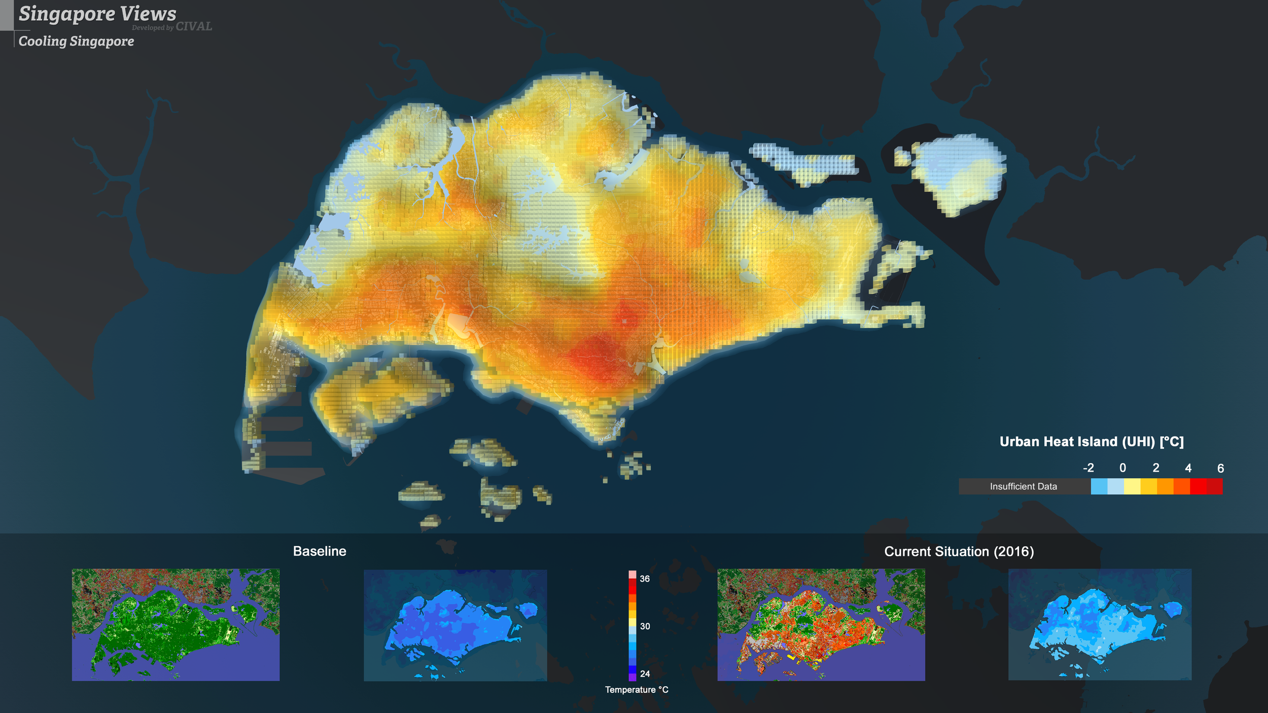 Cooling Singapore & CIVAL, 2018 | Dr. Muhammad Omer MUGHAL & Sailin ZHONG