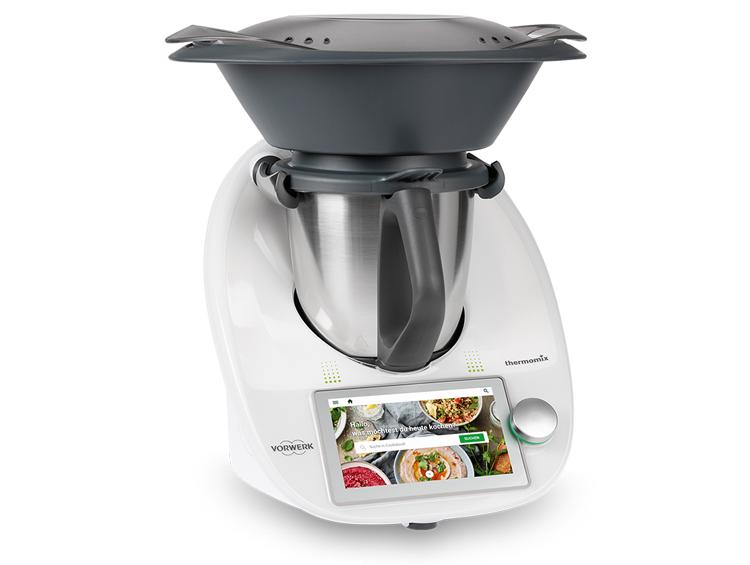 De multifunctionele Thermomix keukenrobot vervangt met zijn 12 functies vele andere toestellen