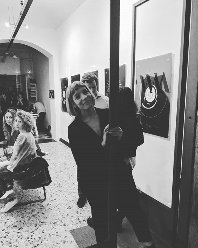 A month ago we were opening the @oddityviz exhibition in Turin - and I'm so grateful for the opportunity. Thanks @wildmazzini 😎👨🎤🎼🖌️