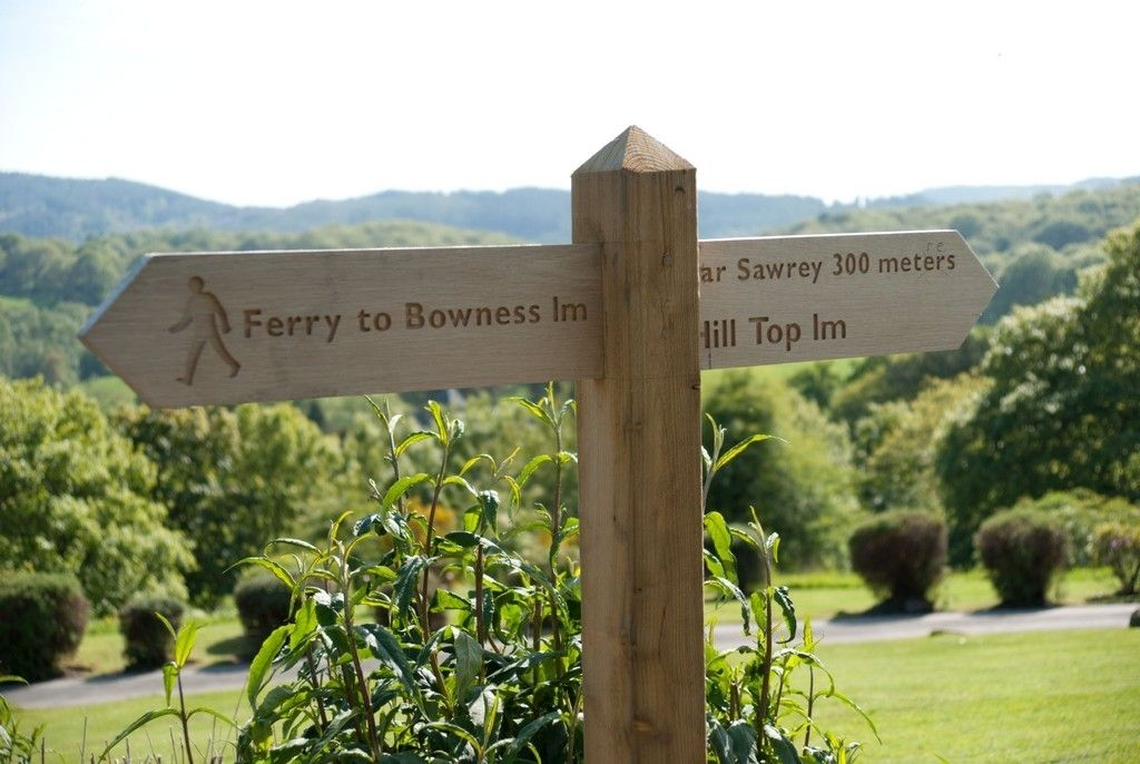 Ferry and Near Sawrey in Easy Walking Distance