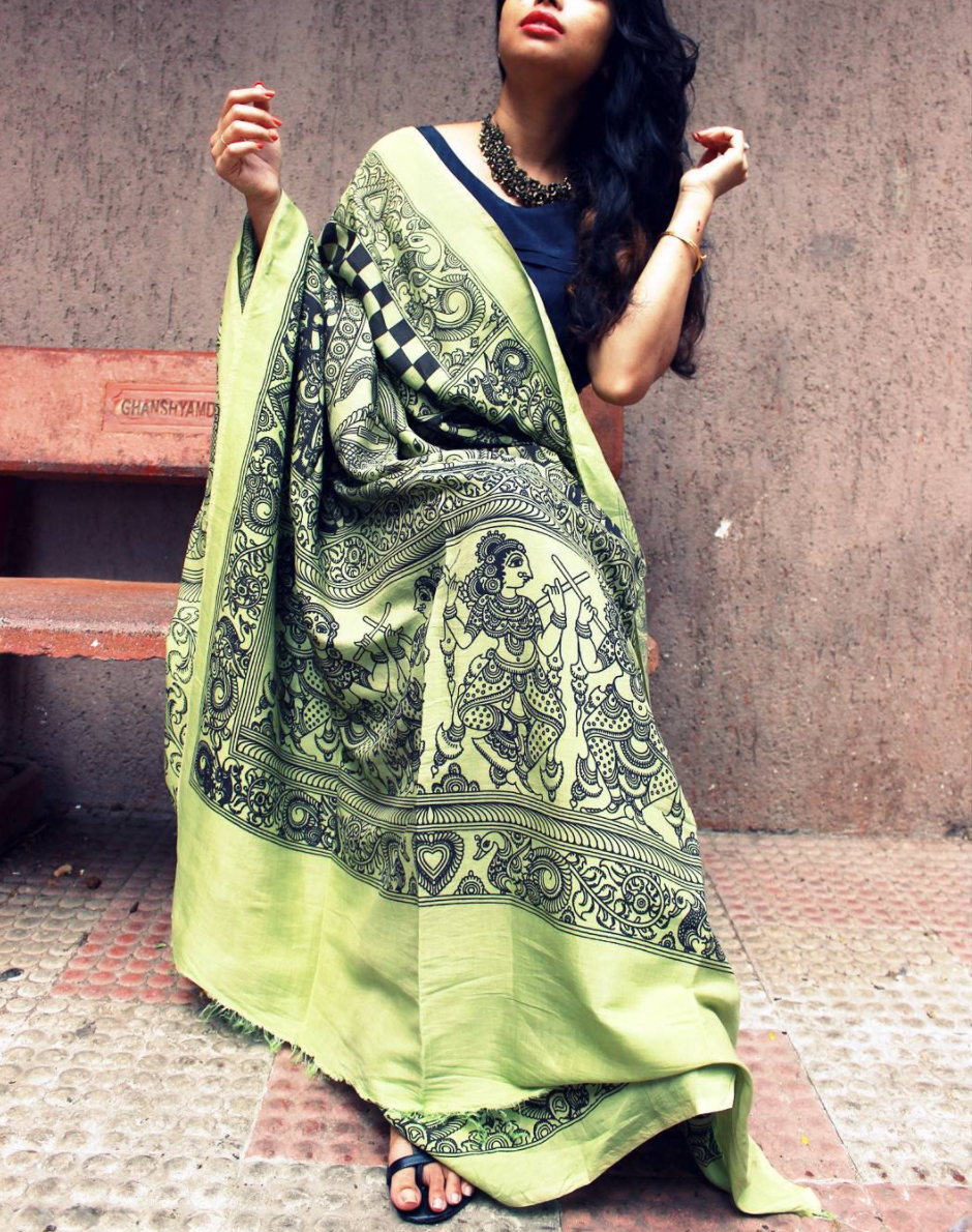 Drapeastory Saree