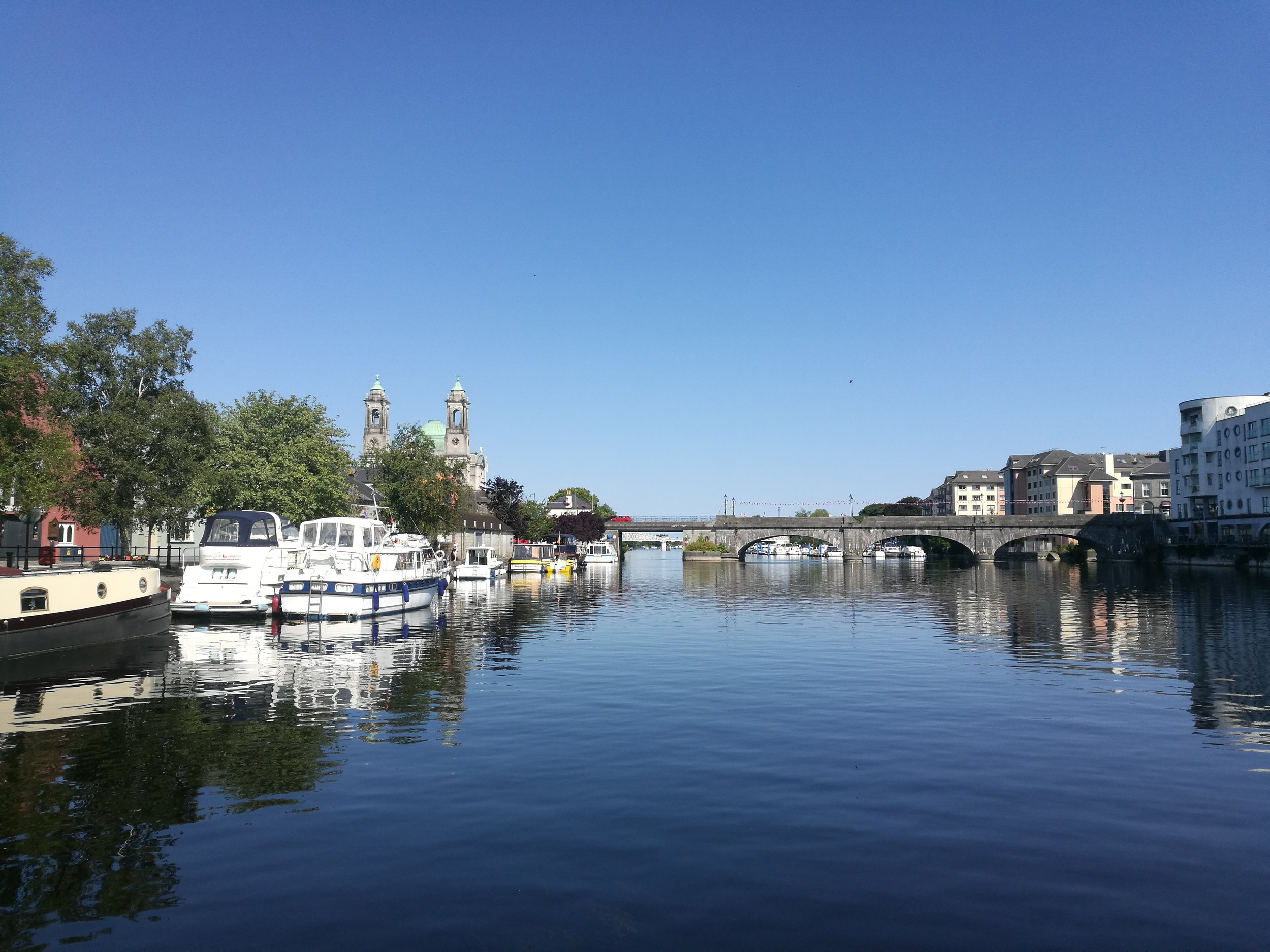 Visiting Athlone while boating in Ireland
