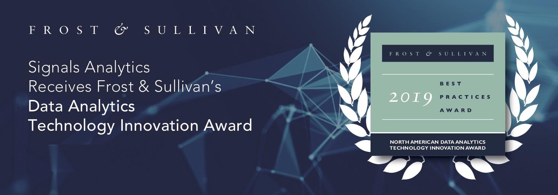 Signals Analytics Receives Frost & Sullivan's 2019 Technology Innovation Award – Data Analytics