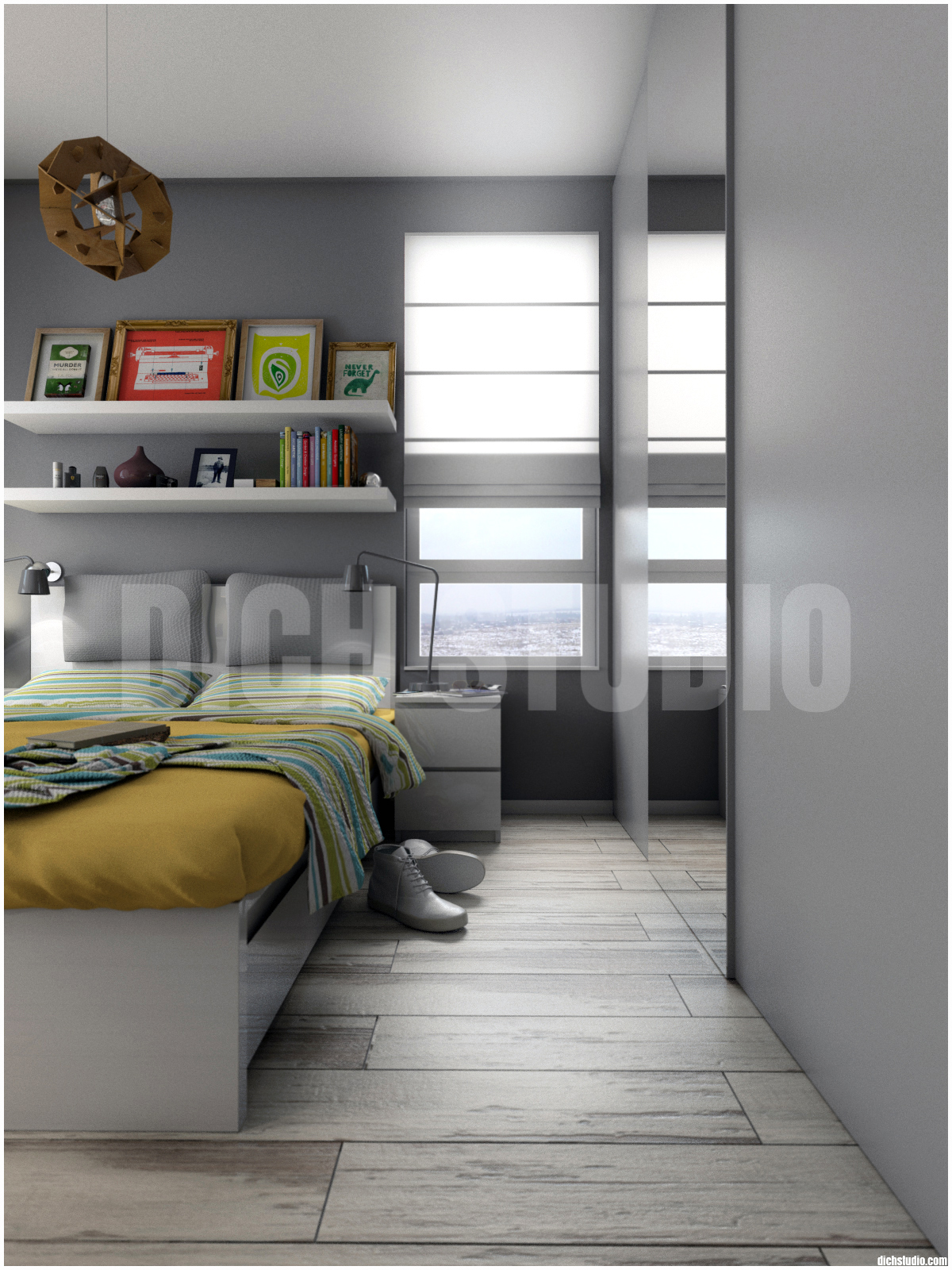 Interior design, apartment, Mladost, Sofia