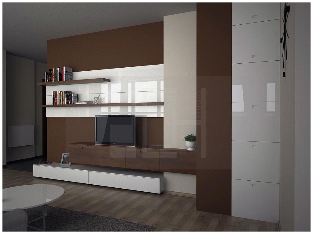 rendering living room, Iztok, Sofia