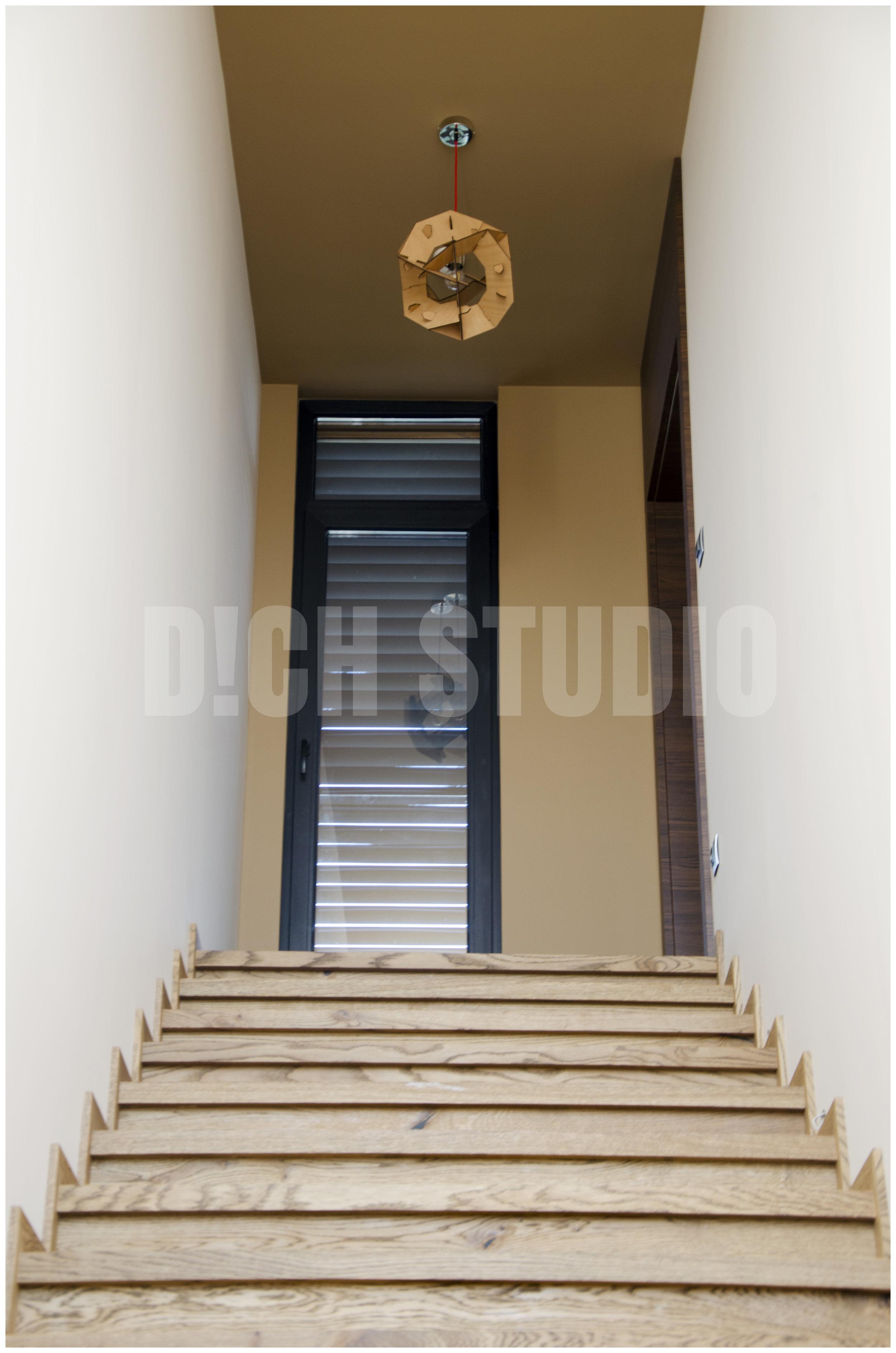 Photo, staircase, house near Varna
