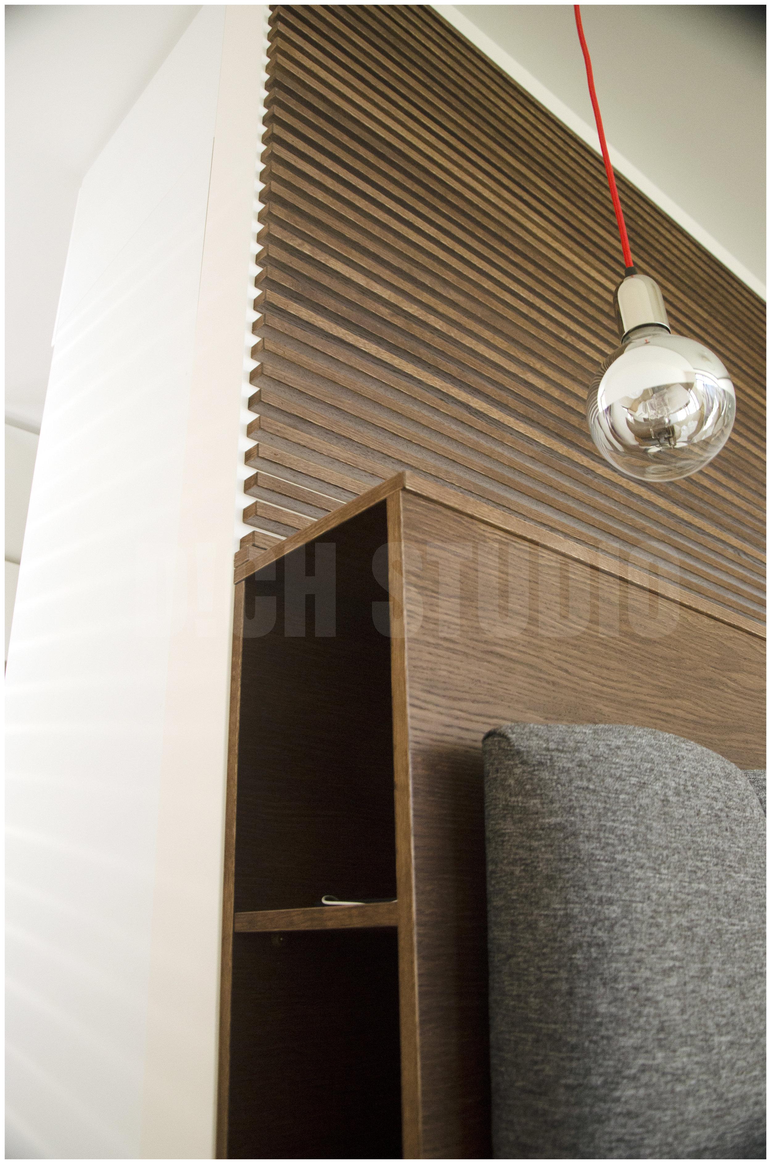 Photo, detail master bedroom, house near Varna