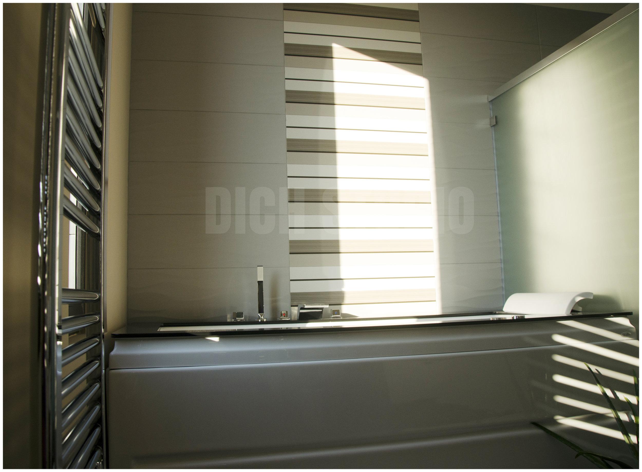 Photo, master bathroom, house near Varna