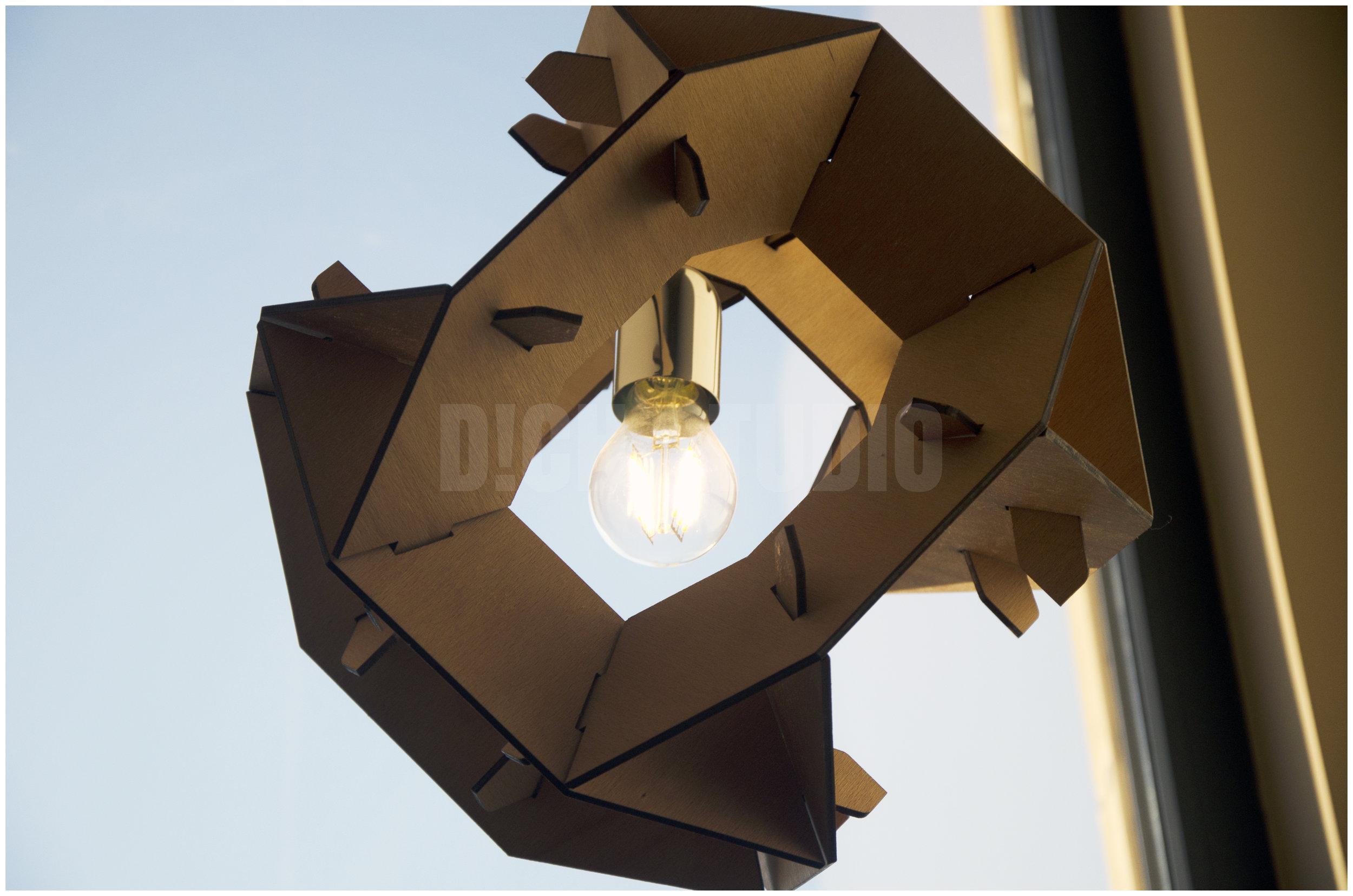 Photo, lighting detail, house near Varna