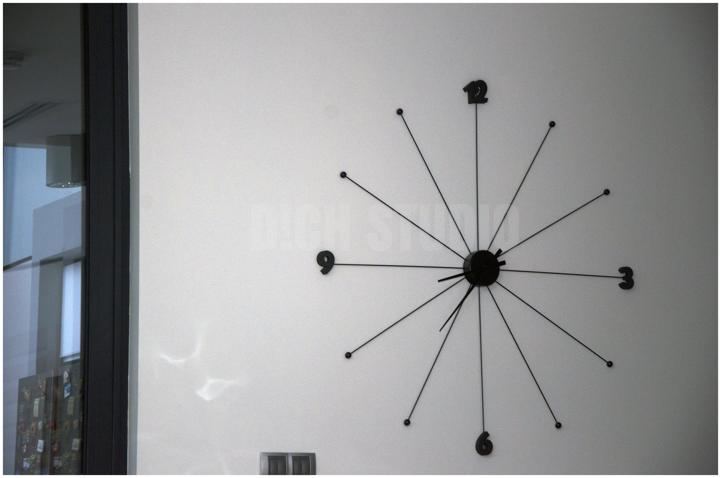 Photo of wall clock, house near Varna