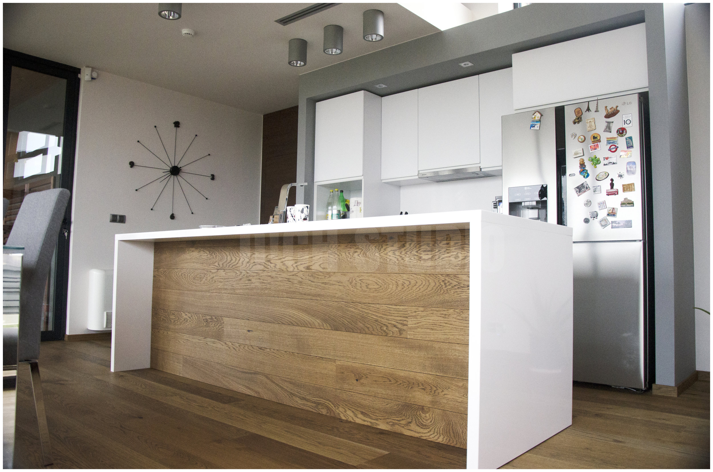 Photo of kitchen detail, house near Varna