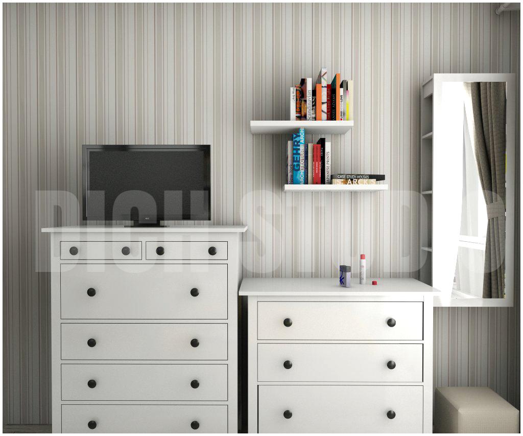 Master bedroom interior design project Mladost Sofia