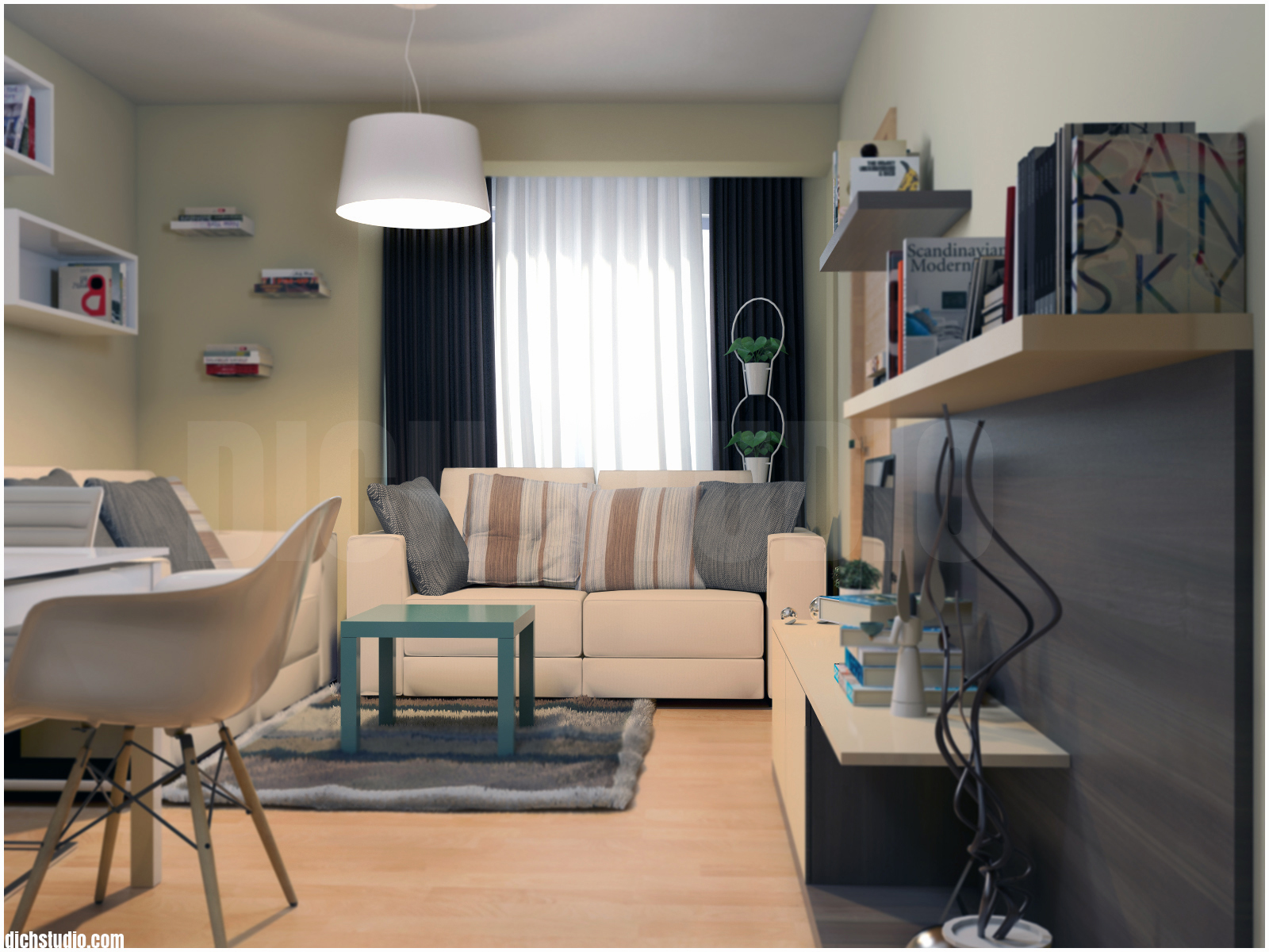 Living room design Ovcha Kupel Sofia