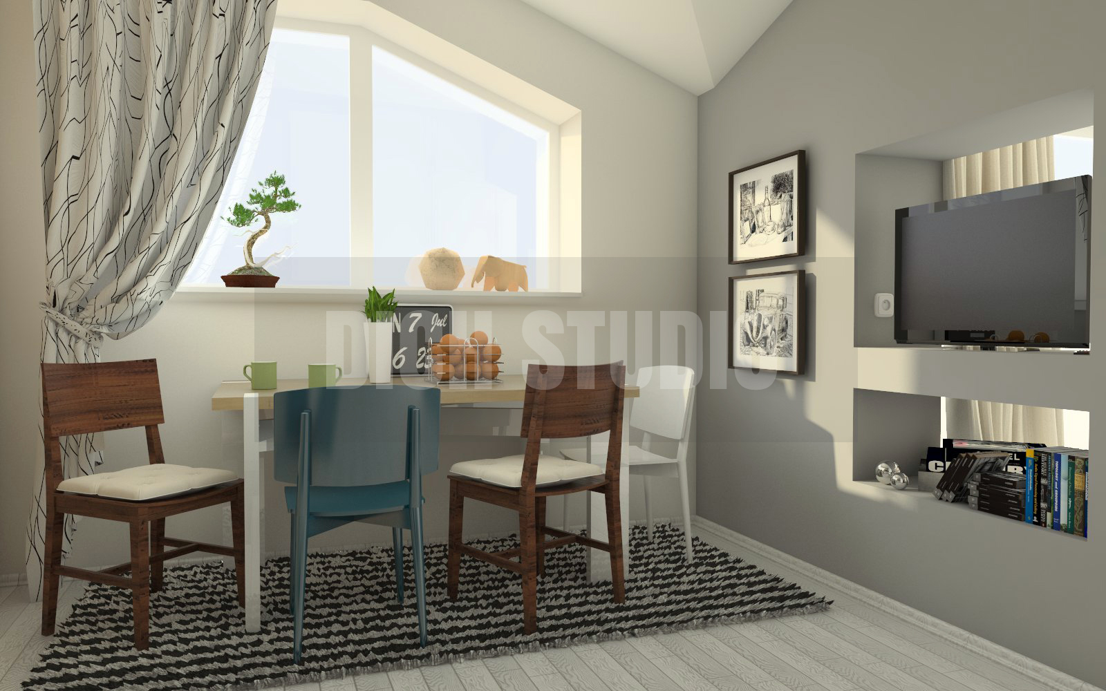Dinning interior design, Vratsa