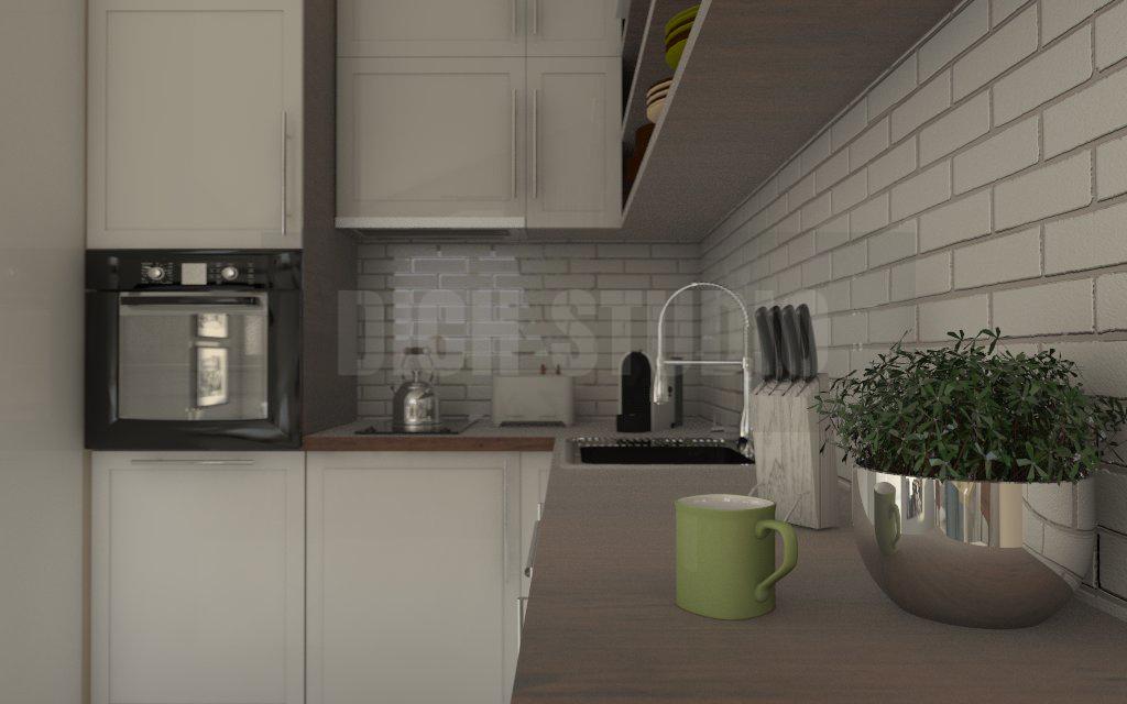 Дизайн на кухня идея, Враца