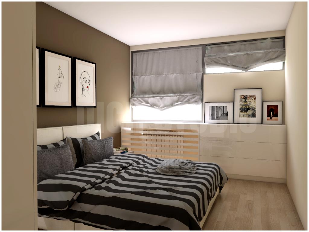Bedroom idea brown