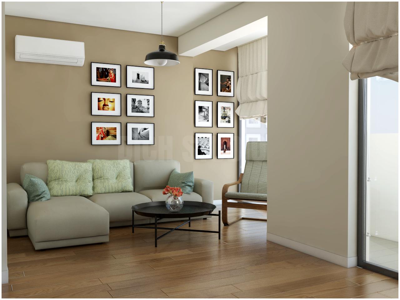 Living room beige