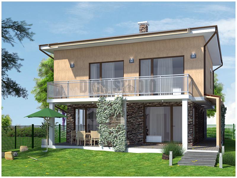 House design project, Sofia