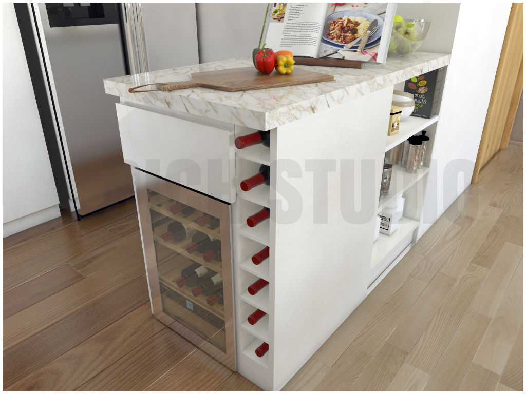 Kitchen island design Tarnovo