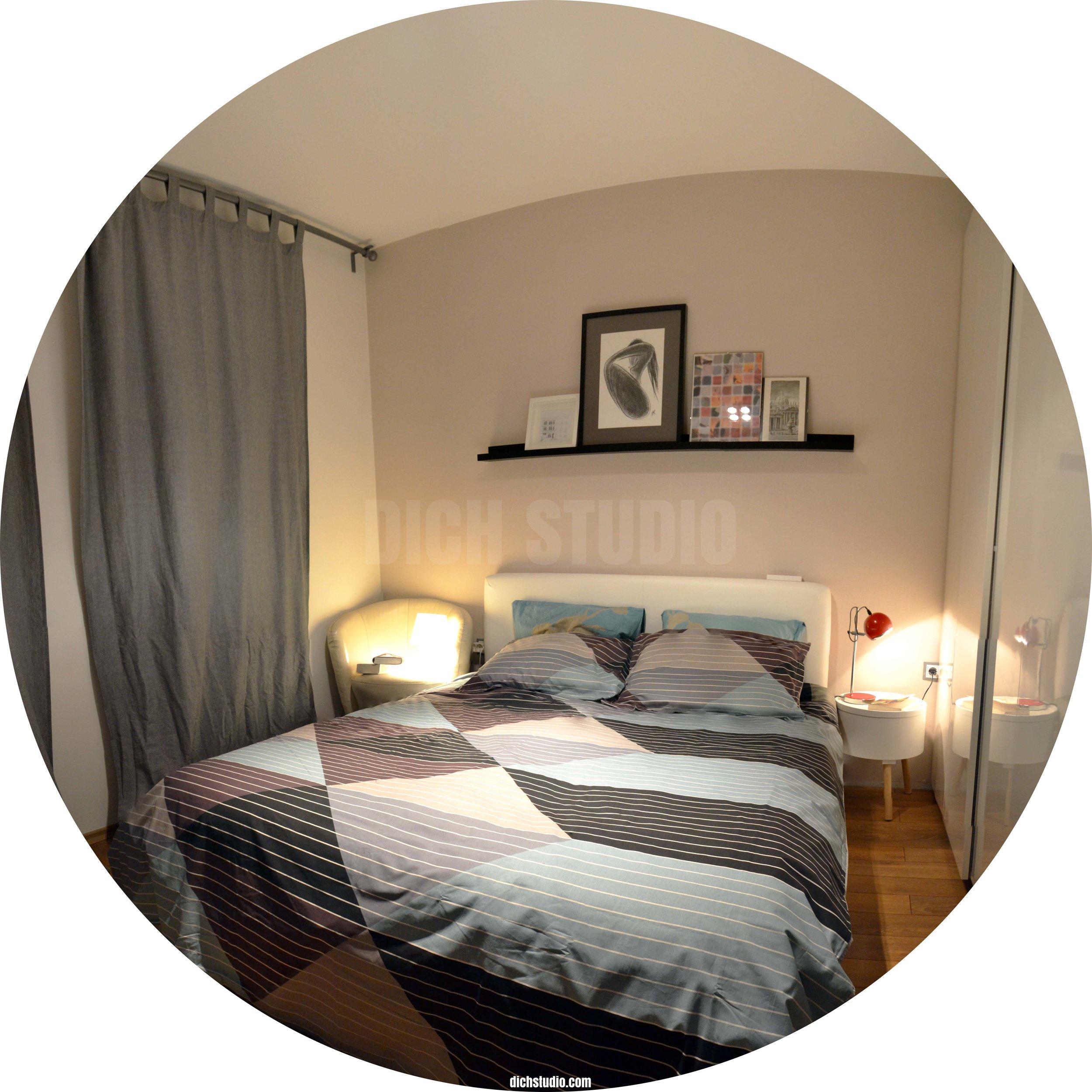 Bedroom design Vitosha Sofia