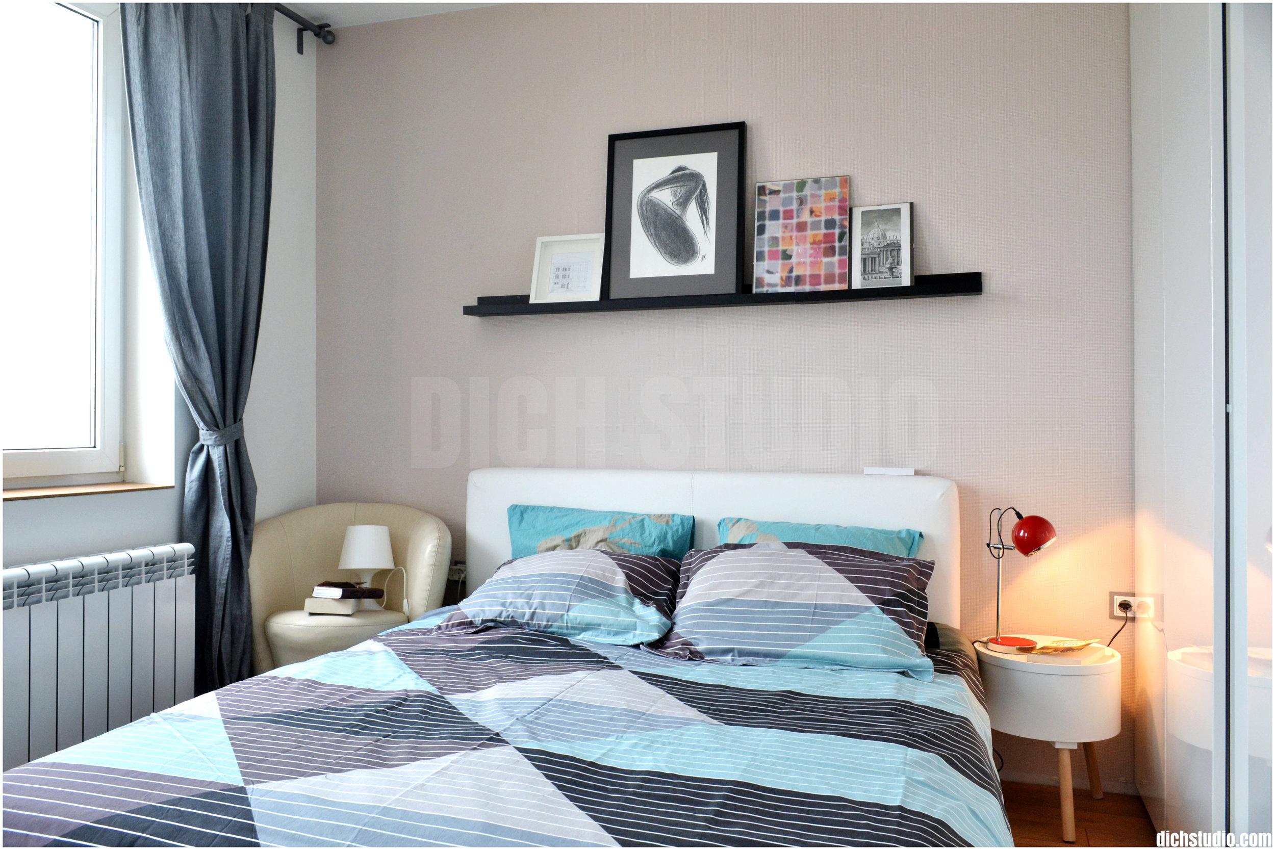 Bedroom interior design Sofia