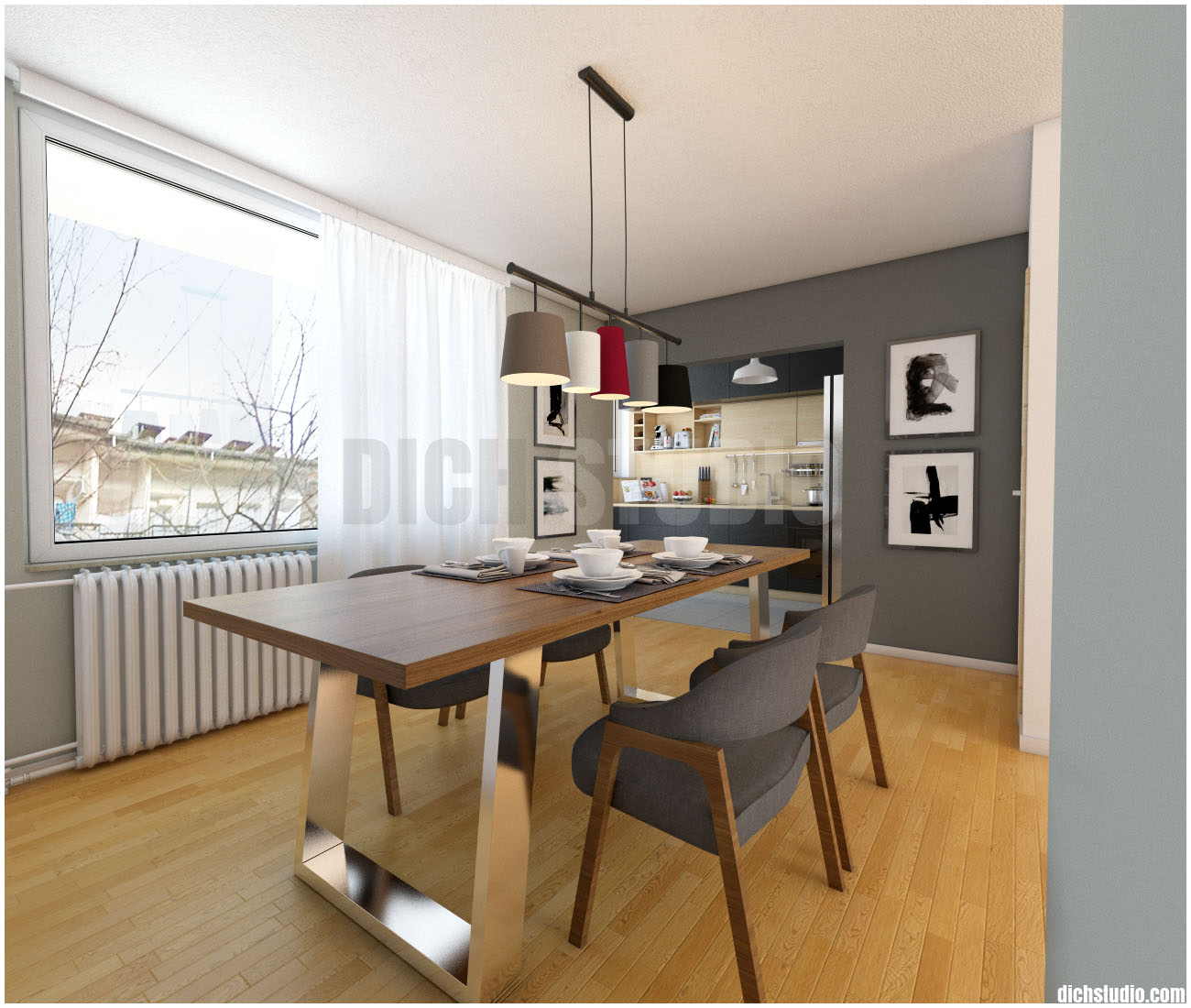 dinning room design, Vratsa