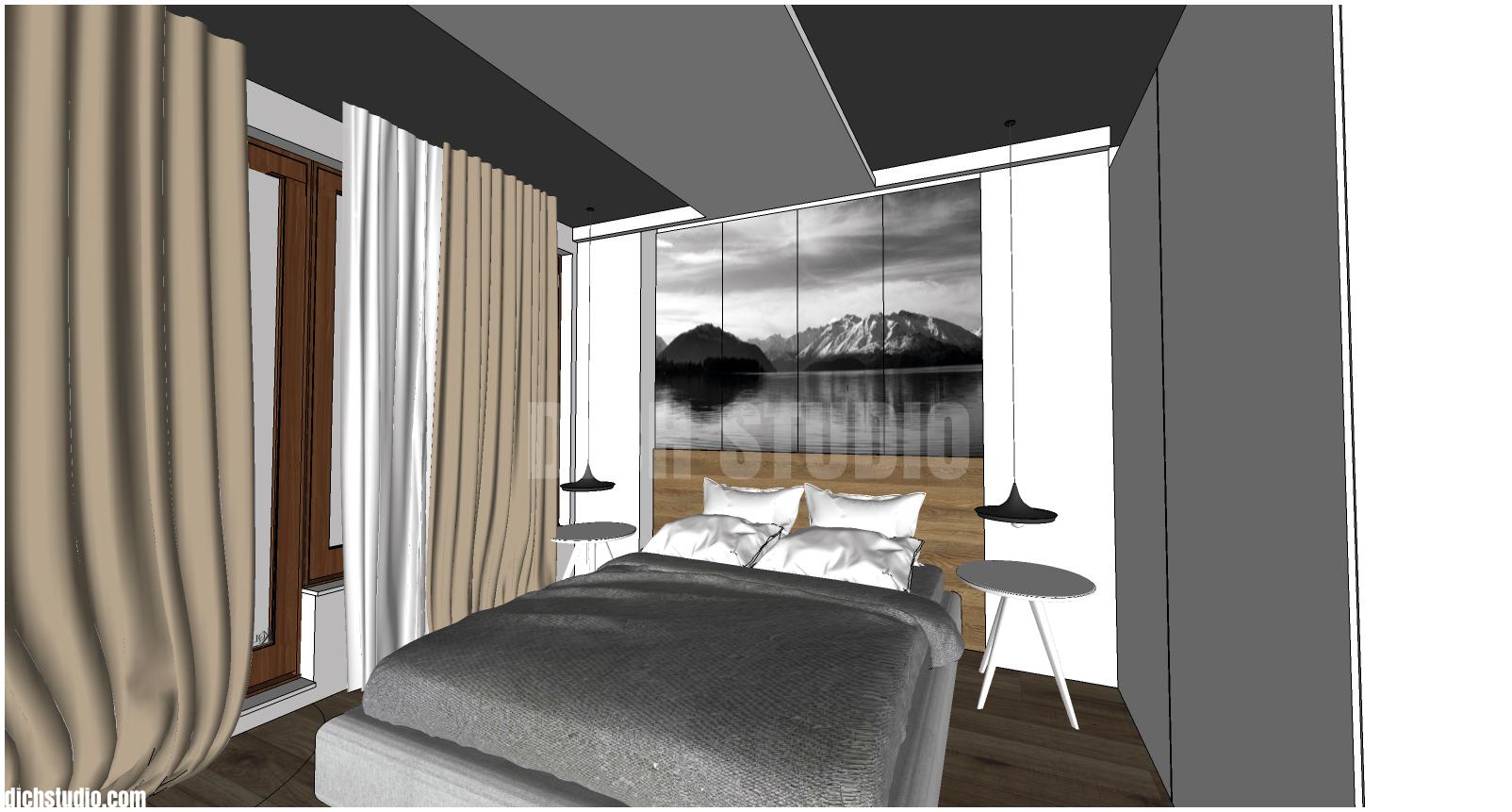 визуализация спалня