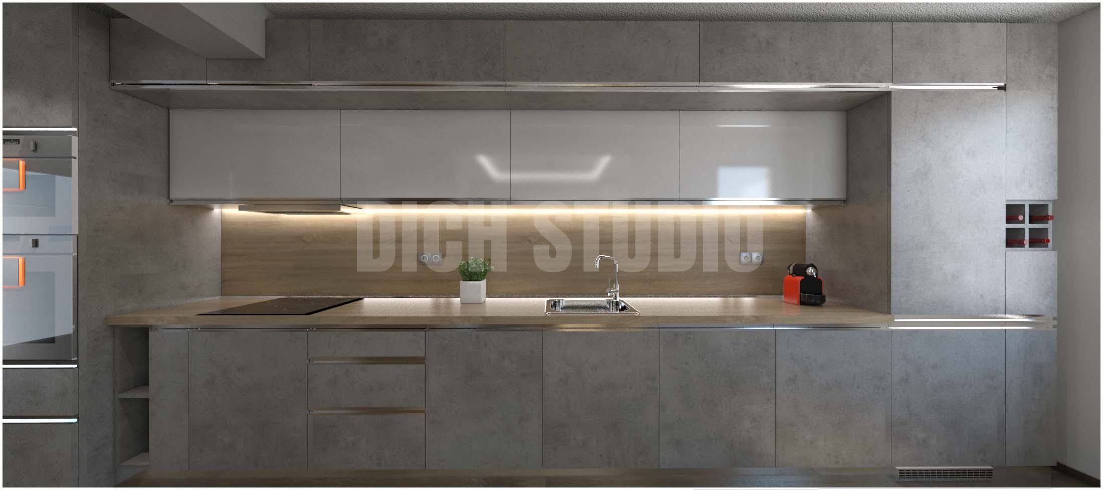 Визуализация на кухня