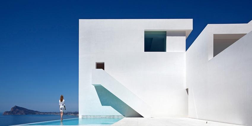 Къша върху скала ; архитект - Fran Silvestre Arquitectos; Фото: Fran Silvestre Arquitectos