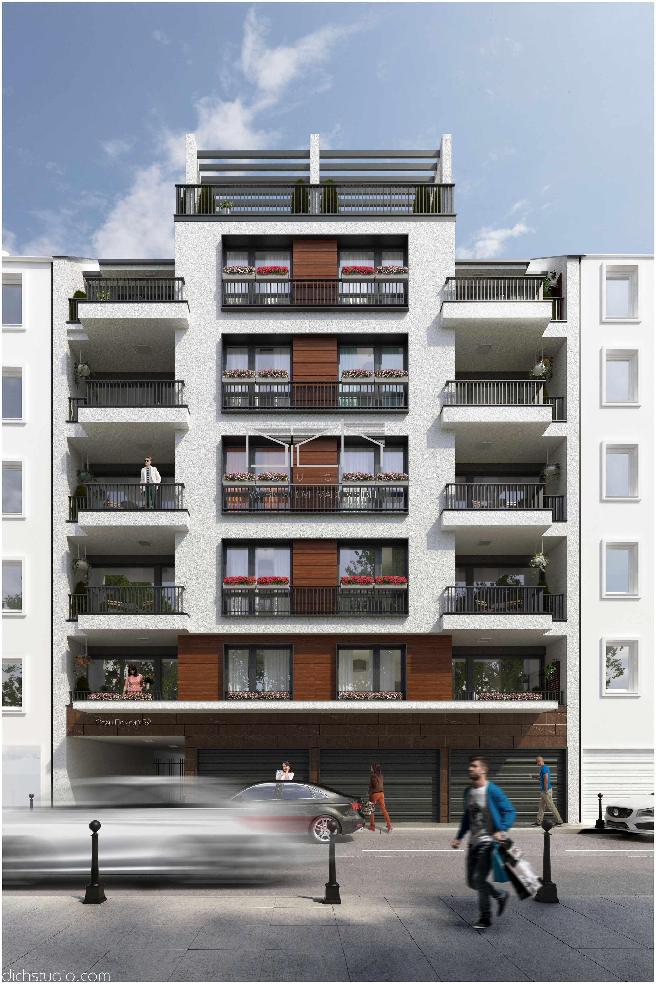 Визуализация на жилищна единица
