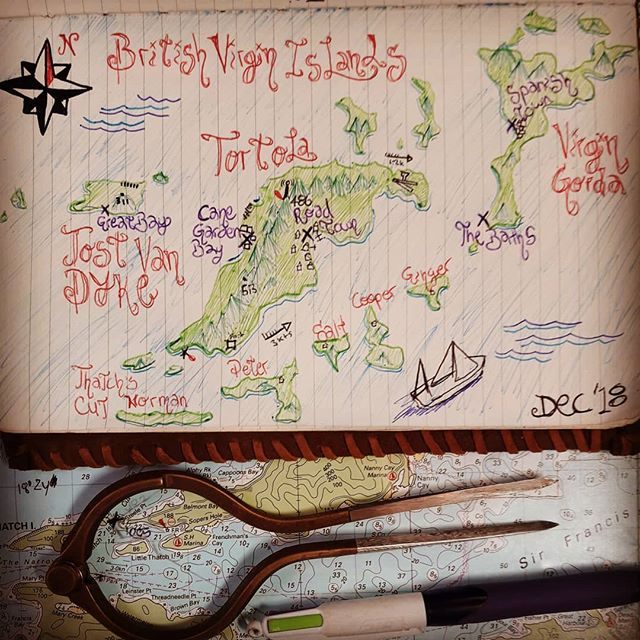 Treasure maps and shit #sail #sailporn #adventure #maps #endlesssummer #bvi #pirate #piratesofthecaribbean