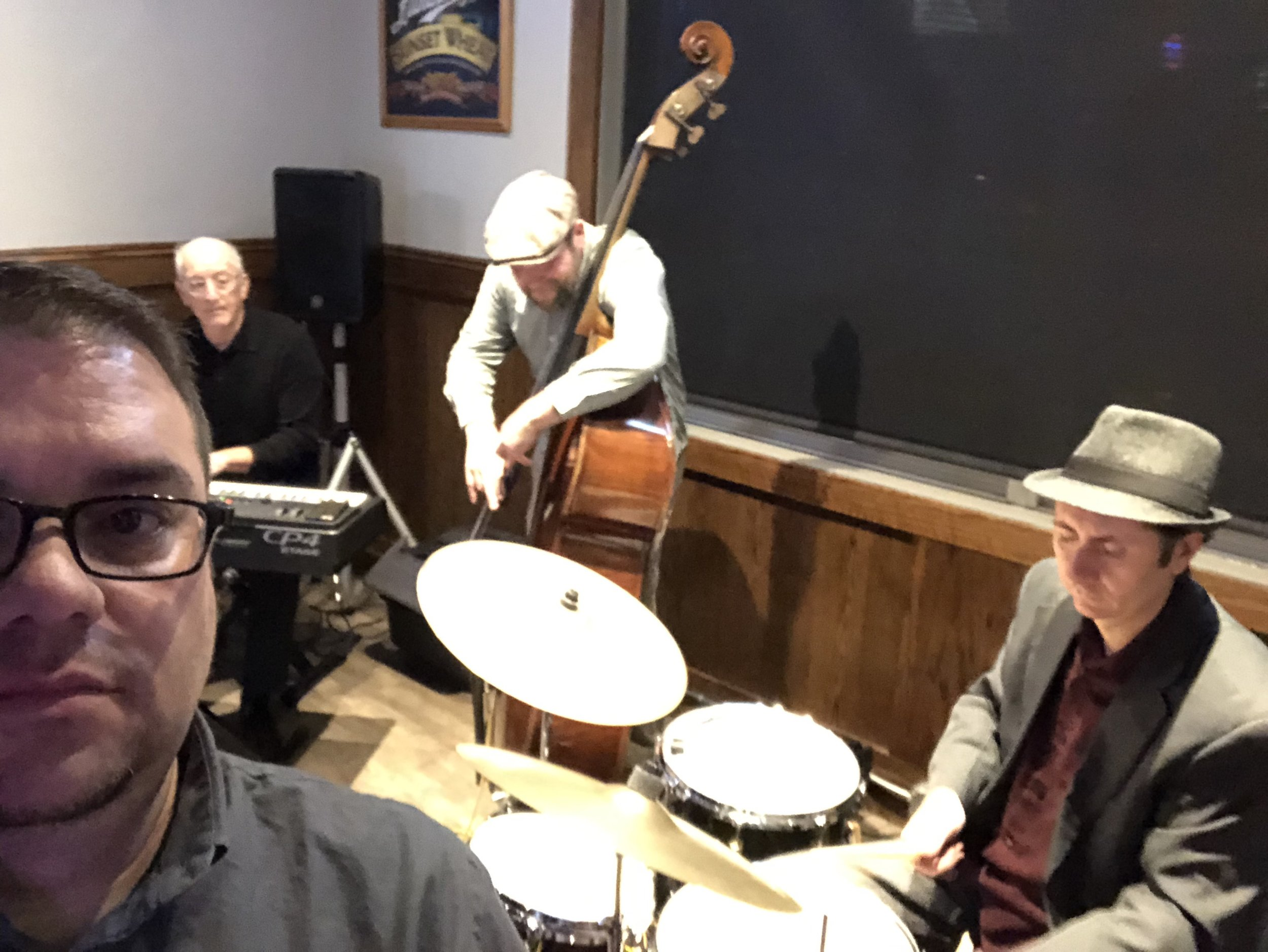 Jam Session; Bill Nichols-bass, Ricky Exton-drums
