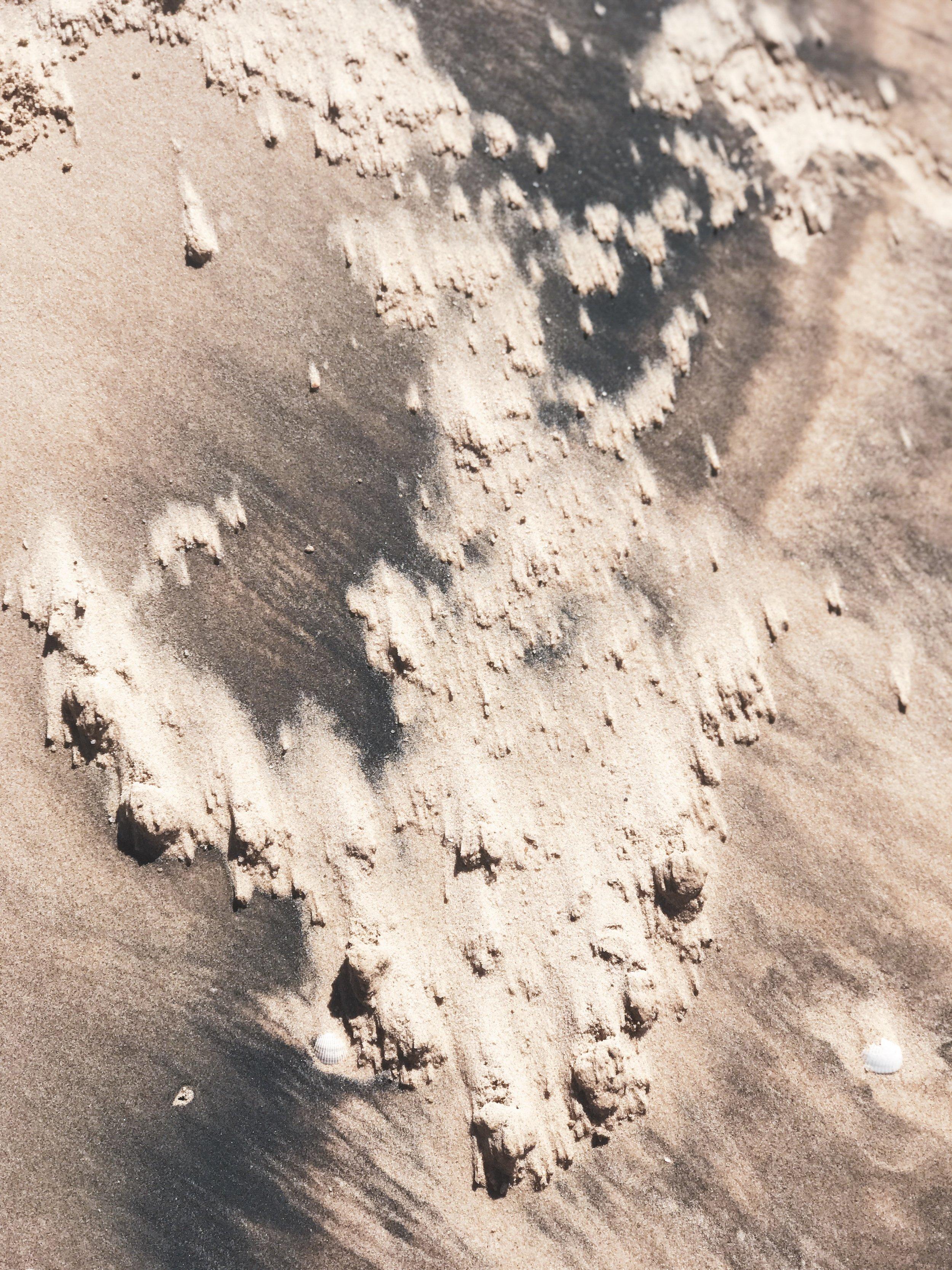 Western Sahara volcanic sand by SIXFOUR