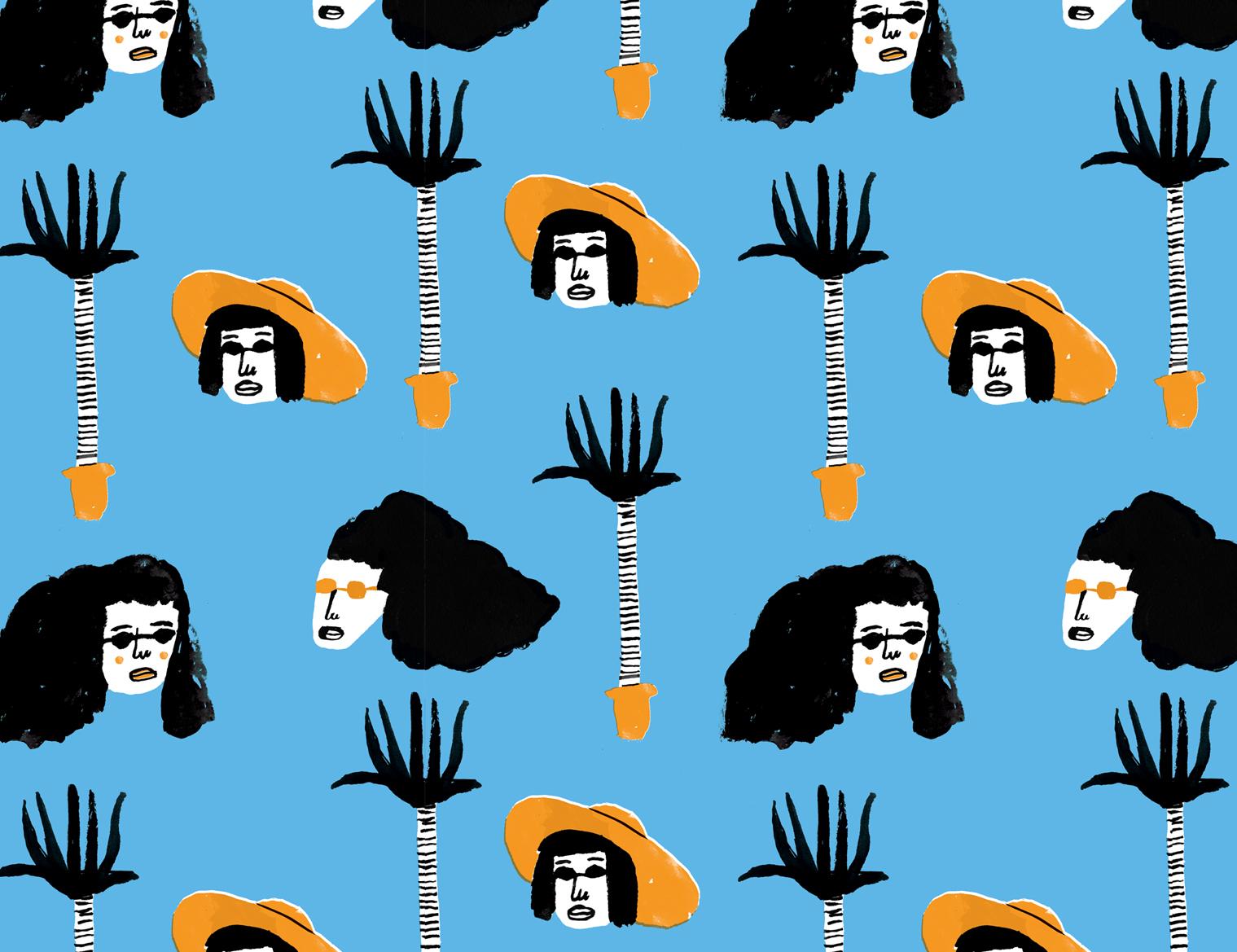 Lucy Kirk - LA pattern
