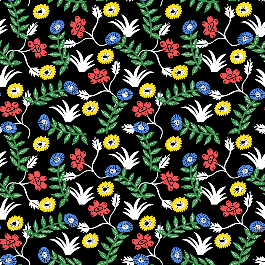 Lucy Kirk - floral pattern